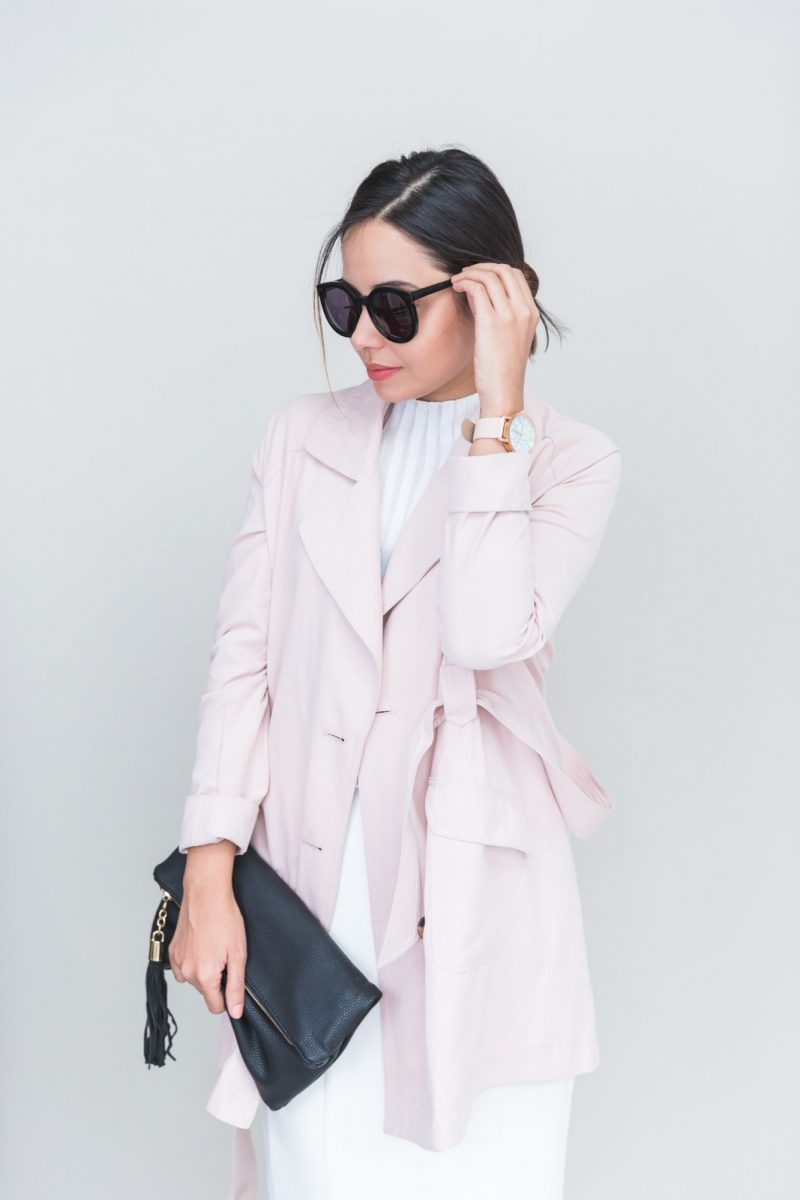 Jack by BBD Blush Monroe Trench