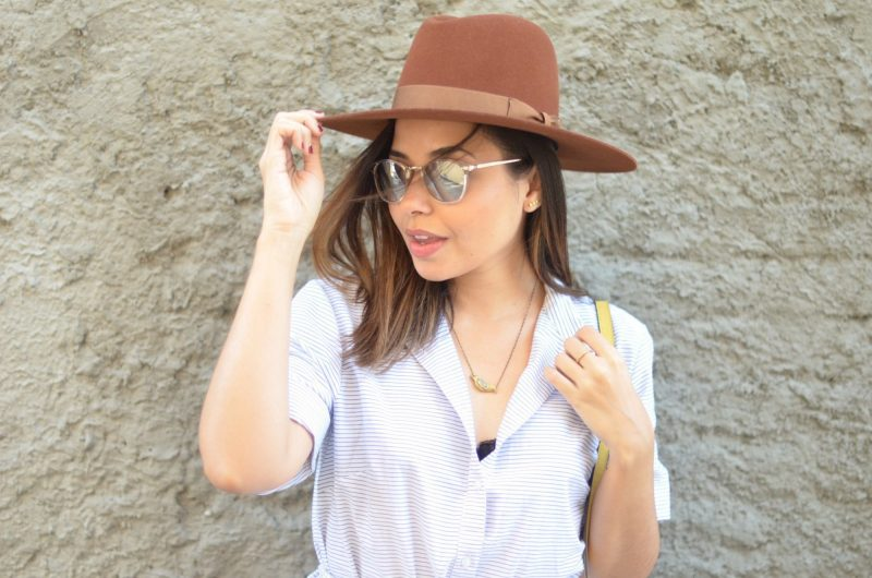 AJ Morgan Eyewear Castro Sunglasses Worth and Worth Luna Hat