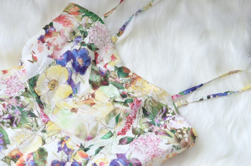 TST Collective Spring Floral Print Romper