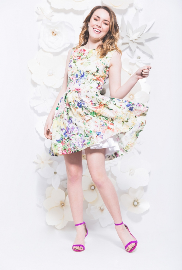 TST Collective In Bloom A-Line Dress