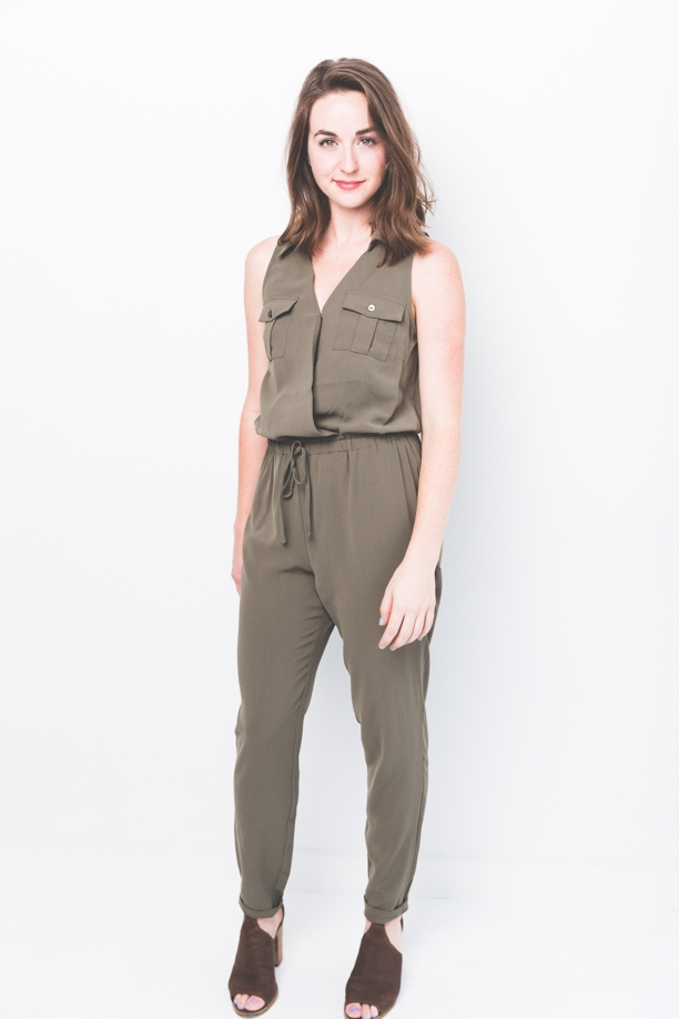 Dylan Army Jumpsuit