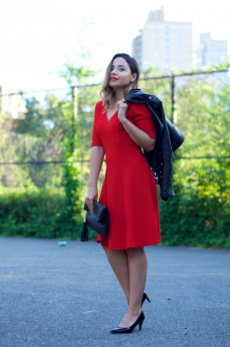 London Times Maisy Fit Flare Dress