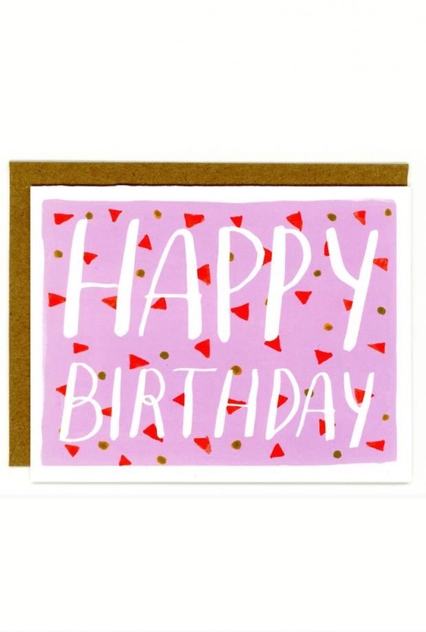 In Company Happy Birthday Card
