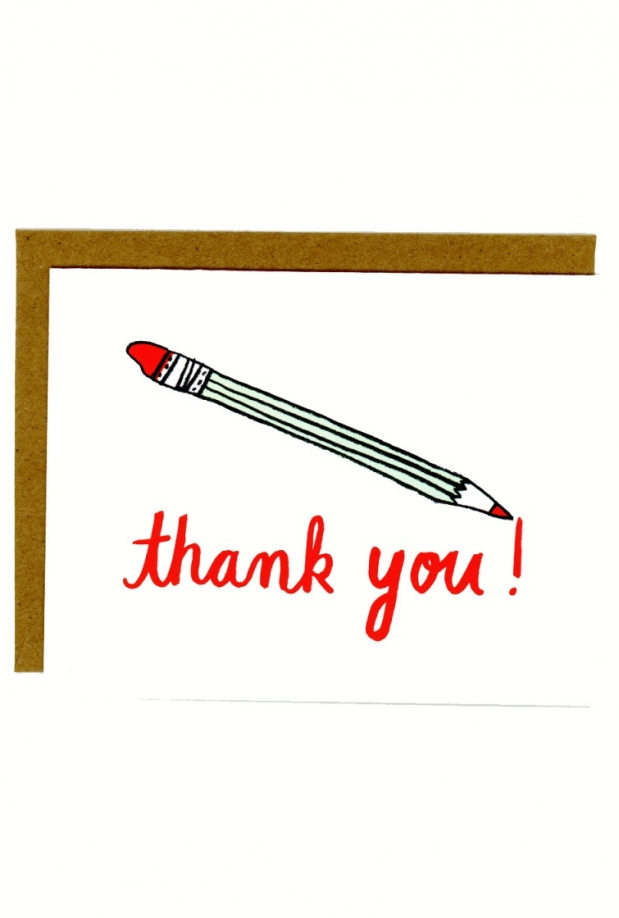 In Company Thank You Note Card
