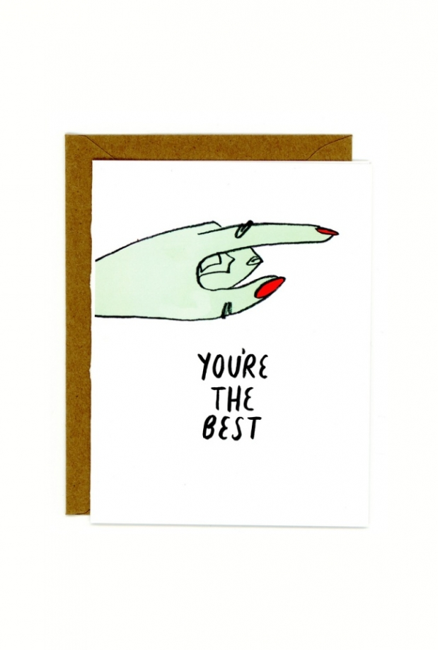 In Company The Best Card