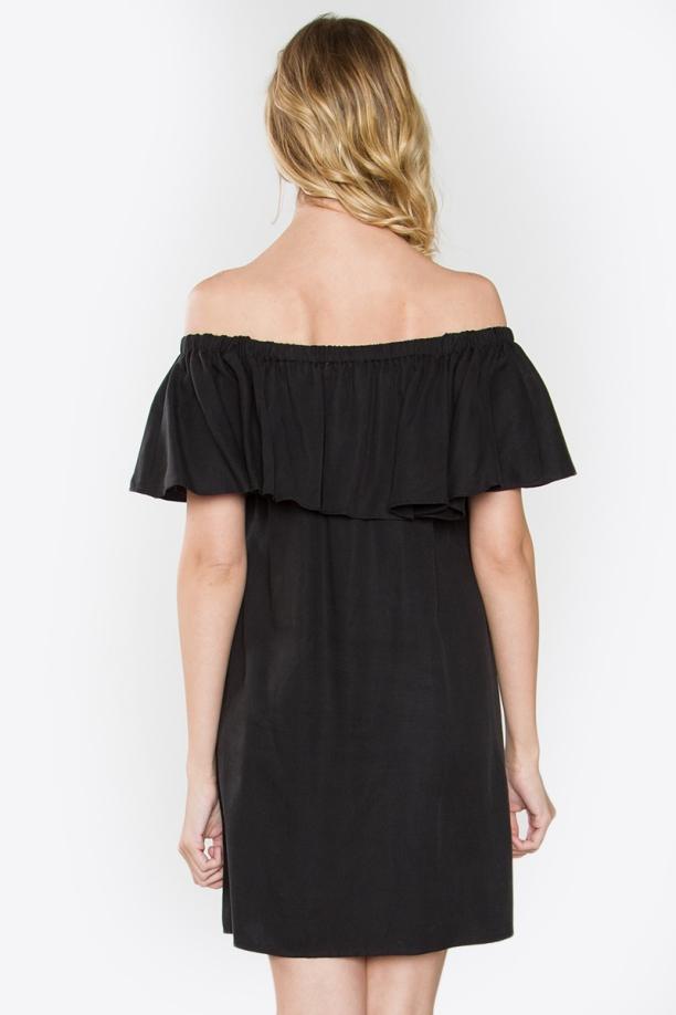 Finley Black Off The Shoulder Dress