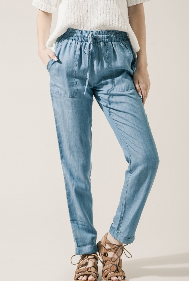 Moon River Chambray Pants