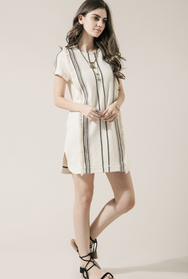 Moon River French Terry Dress