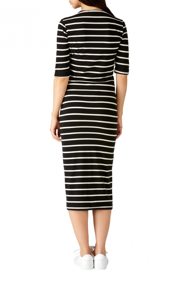 Octavia Stripe Bodycon Dress