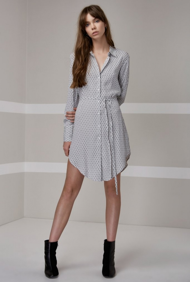 The Fifth Label Crystal Lights Shirt Dress