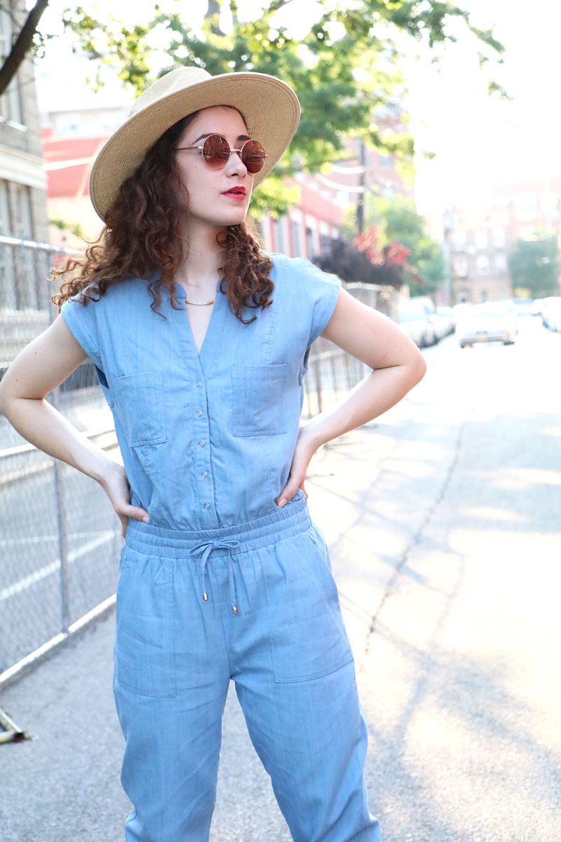 Jameson Chambray Jumpsuit