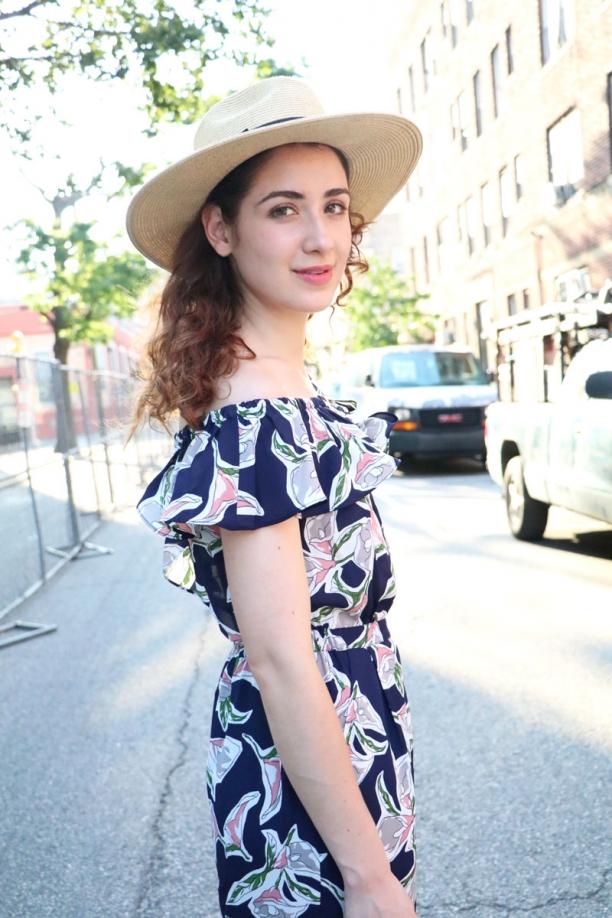 Vivien Floral Off The Shoulder Jumpsuit