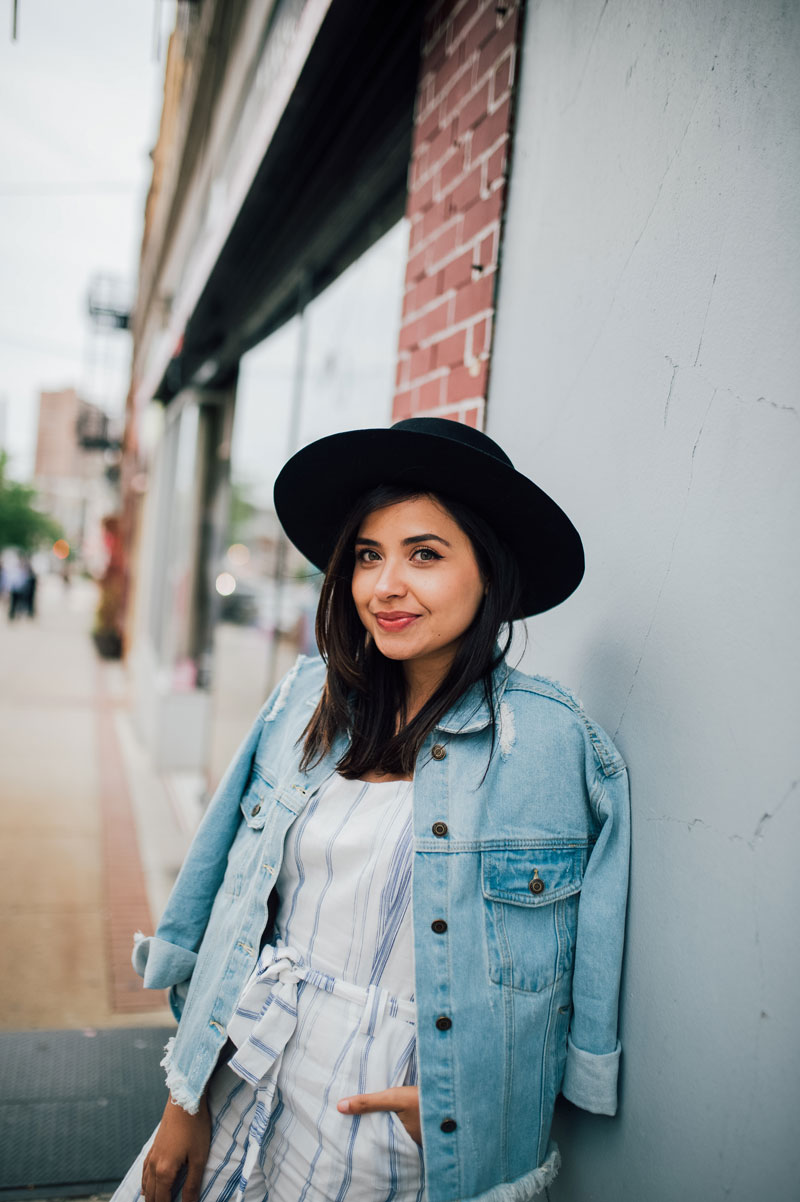 Bolero-Hat-Striped-Jumpsuit-Denim-Jacket 405c8b3bd4a