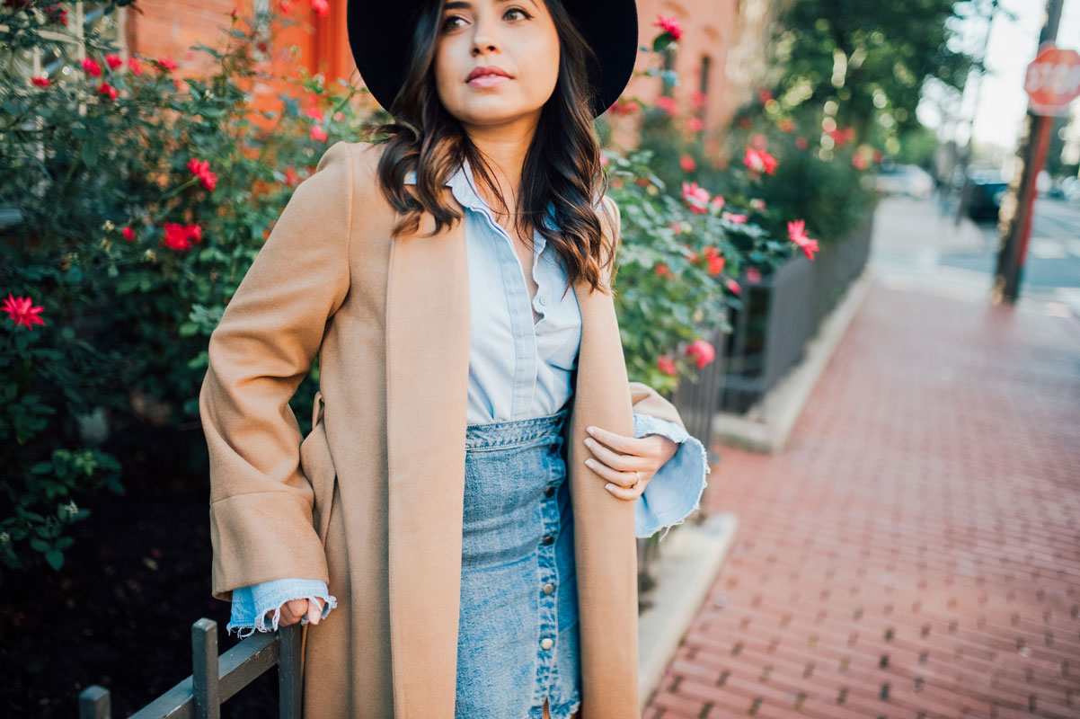 Long Camel Flared Sleeve Coat | Why you should invest in a camel coat
